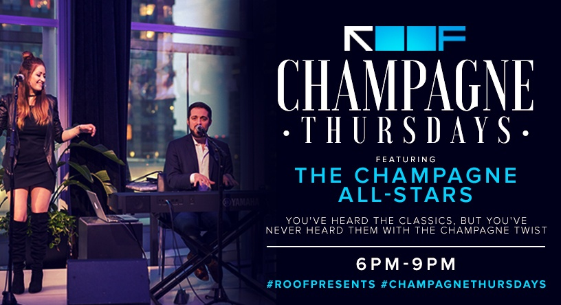 Champagne Thursdays | ROOF on theWit