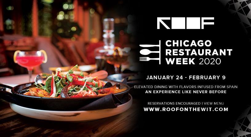ROOF restaurant week